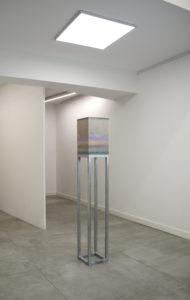 Installation view of Sedimentale solo show