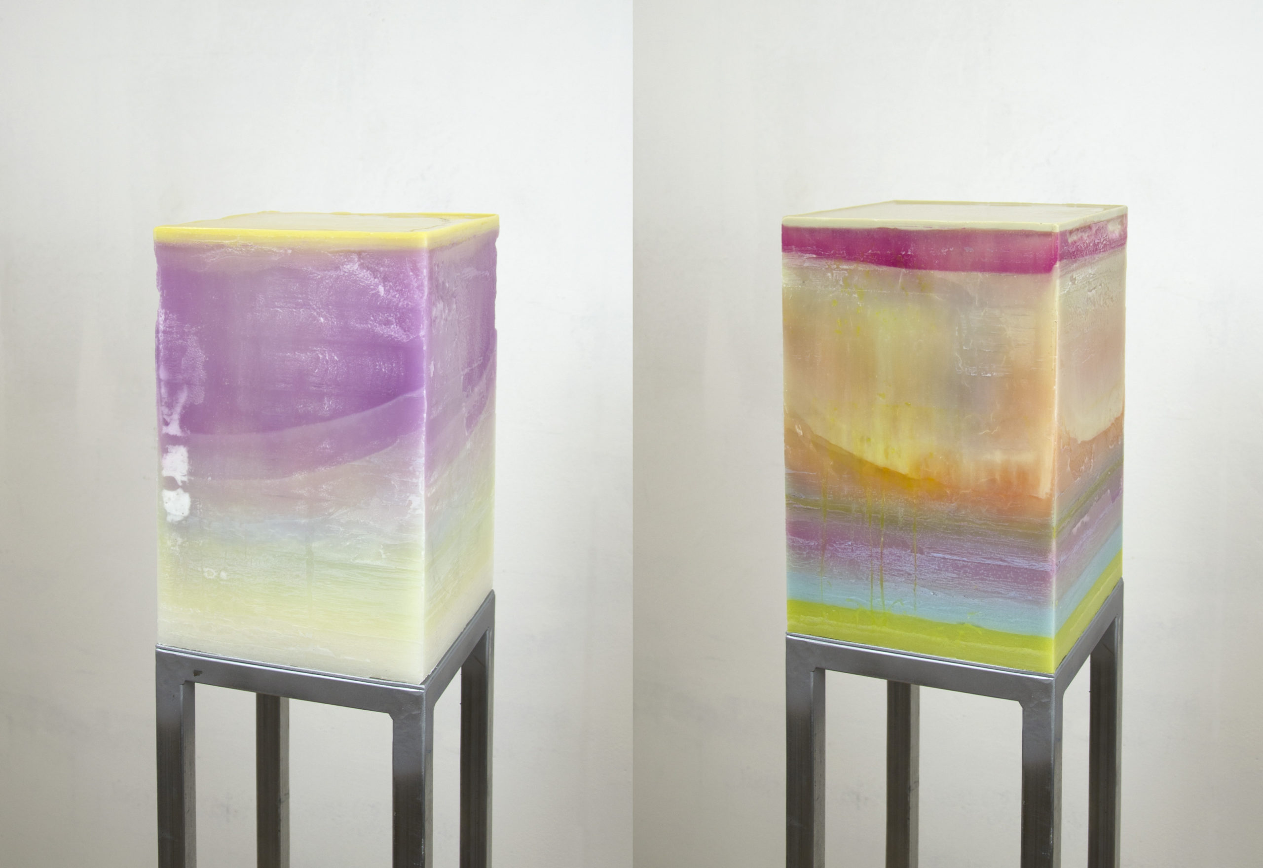Honey Boxes. Cubes. Details.